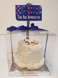 Bakery-Mini Cakes- You Are Appreciated